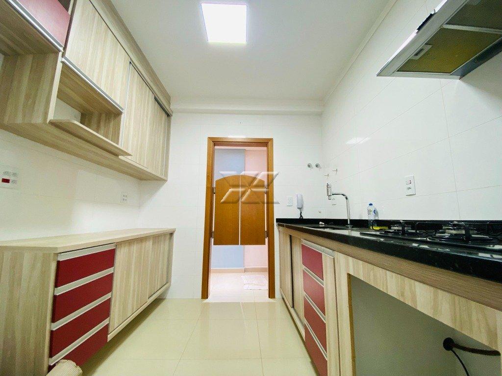 Vista contrária da cozinha